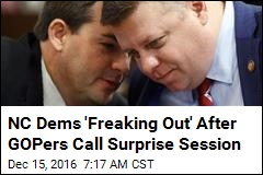 NC Dems 'Freaking Out' After GOPers Call Surprise Session