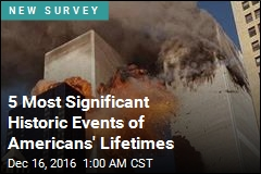 These Are the 5 Most Significant Historic Events of Americans' Lifetimes