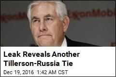 Leak Reveals Tillerson Directorship at Offshore Firm