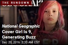 National Geographic Cover Girl Generating Buzz