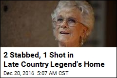 Country Star's Widower Stabbed Trying to Protect Granddaughter