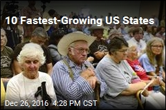 10 Fastest-Growing US States