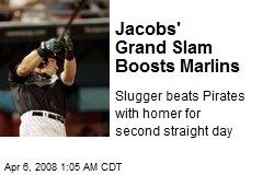 Jacobs' Grand Slam Boosts Marlins