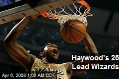 Haywood's 25 Lead Wizards