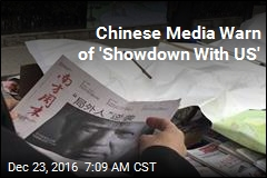 Chinese Media Warn of 'Showdown With US'
