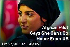 Afghan Air Force's 1st Female Pilot Seeks Asylum in US