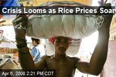 Crisis Looms as Rice Prices Soar