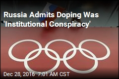 Russia Admits Doping Was 'Institutional Conspiracy'