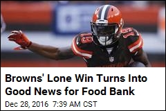 NFL Team's Sad Parade Nixed, but Money Goes to Food Bank
