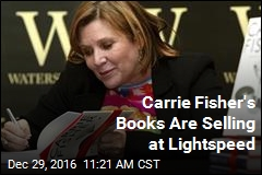 Carrie Fisher's Books Are Selling at Lightspeed