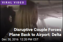 Delta Flight Turns Back Due to Disruptive Couple: Airline