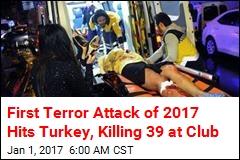 Gunman Dressed as Santa Kills 39 at Turkish Club: Reports