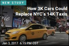 How 3K Cars Could Replace NYC's 14K Taxis