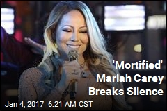 Mariah Carey Speaks Out on New Year's Fiasco