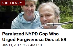 Paralyzed NYPD Cop Who Urged Forgiveness Dies at 59