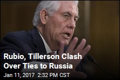 Tillerson Grilled Over Putin Connections