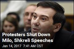 Protesters Shut Down Milo, Shkreli Speeches