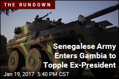 Senegalese Army Enters Gambia to Topple Ex-President