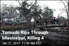 Tornado Rips Through Mississippi, Killing 4