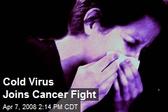 Cold Virus Joins Cancer Fight