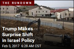 Trump Warns Israel on New Settlements