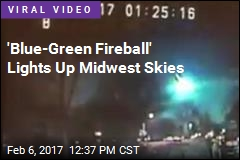 Midwest Lit Up by Overnight Meteor Show