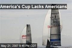 America's Cup Lacks Americans