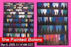She Painted Bolero
