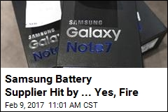 First Samsung's Phones Caught Fire. Now, a Factory