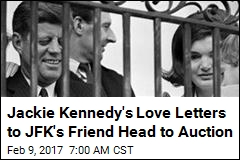 Jackie Kennedy's Love Letters to JFK's Friend Head to Auction