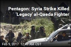 Pentagon: Syria Strikes Killed 11 al-Qaeda Members