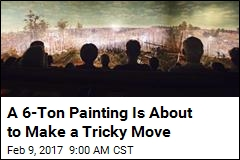 A 6-Ton Painting Is About to Make a Tricky Move