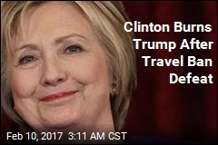 Hillary Clinton Trolls Trump After Travel Ban Ruling