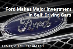 Ford Makes Major Investment in Self-Driving Cars