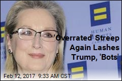 Streep Again Rips Trump, 'Brownshirts'