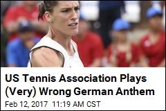 US Tennis Association Plays (Very) Wrong German Anthem