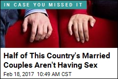 Half of This Country's Married Couples Aren't Having Sex