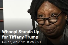 Whoopi Stands Up for Tiffany Trump