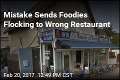 Mistake Sends Foodies Flocking to Wrong Restaurant