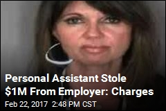 Personal Assistant Stole $1M From Employer: Charges