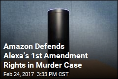 Amazon Defends Alexa's 1st Amendment Rights in Murder Case