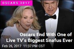 The Oscars Just Had Its Steve Harvey Moment