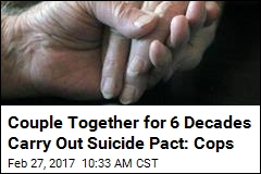 Couple Together for 6 Decades Carry Out Suicide Pact: Cops