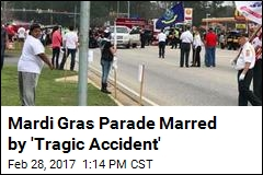 Students Injured After Car Plows Into Mardi Gras Parade