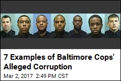 7 Examples of Baltimore Cops' Alleged Corruption