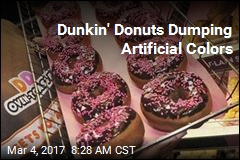 Dunkin' Donuts Dumping Artificial Colors
