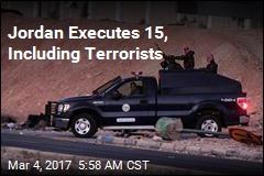 Jordan Executes 15, Including Terror Suspects