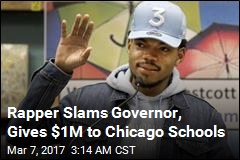 Rapper Donates $1M to Chicago Public Schools