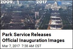 Park Service Releases Official Inauguration Images