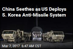 US Deploys Controversial Anti-Missile System in S. Korea